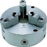 ビクター スクロールチャック TC6A 6インチ 芯振れ調整型 3爪 分割爪 TC6A (443-8035) 《チャック・生爪》