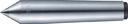 TRUSCO レースセンター超硬付 MT1 チップ径12mm TRSP-1-12 (329-0328) 《芯押センター》