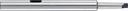 TRUSCO ドリルソケット ロングタイプ MT3×3×300 TDCL-33-300 (329-0506) 《ドリルソケット・スリーブ》