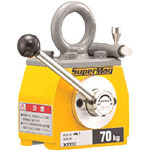 キトー スーパーマグ 平鋼専用タイプ 70kg KRL7 (355-7553) 《リフティングマグネット》