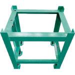 【直送品】 大西測定 石定盤用架台 450×600 形状I 147G-4560 (456-7846) 《定盤》