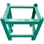 【直送品】 大西測定 石定盤用架台 600×600 形状I 147G-6060 (456-7871) 《定盤》