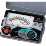 共立電気計器 アナログ接地抵抗計(ハードケース) MODEL4102A-H (479-6845) 《電気測定器》