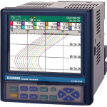 チノー (chino) KR2000シリーズ グラフィックレコーダ KR2121-N0A (722-0120) 《温度計・湿度計》