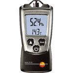 (株)テストー テストー ポータブル温湿度計 TESTO610 (773-6860) 《温度計・湿度計》