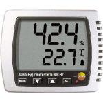 (株)テストー テストー 卓上式温湿度計(LEDアラーム付) TESTO608-H2 (773-6886) 《温度計・湿度計》
