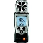 【送料無料】 テストー ポケットラインベーン式風速計 TESTO410-2温湿度計付 TESTO-410-2 (333-7456) 《環境測定器》