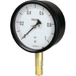 長野 密閉形圧力計 BE10-131-0.1MP (157-6071) 《圧力計》