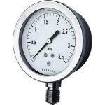 長野 グリセン入圧力計 GV51-133-0.6MP (161-4479) 《圧力計》