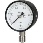 長野 普通形圧力計 AC10-133-0.4MP (169-3158) 《圧力計》