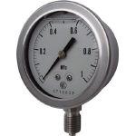 長野 グリセリン入圧力計 GV50-123-35.0MP (434-9717) 《圧力計》