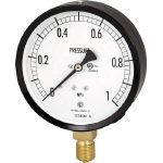長野 普通形圧力計(A枠立形・φ100・G3/8B・0.0~4.00Mpa) AE20-131-4.0MP (498-4765) 《圧力計》