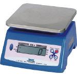 ヤマト 防水形デジタル式上皿自動はかり UDS-210W-20K UDS-210W-20K (398-5733) 《はかり》