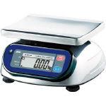 A&D 防塵防水デジタルはかり(検定付・4区) SK1000IWP-A4 (454-8833) 《はかり》