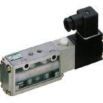 CKD(株) CKD パイロット式5ポート弁セレックスバルブ 4F310-08-B-AC100V (580-6631) 《電磁弁》