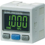 SMC 2色表示式 高精度デジタル圧力スイッチ(正圧用) ISE30A-01-N-MB (419-3555) 《切替弁》
