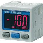 SMC 2色表示式 高精度デジタル圧力スイッチ(真空用) ZSE30A-01-N-MLA1 (419-4519) 《切替弁》