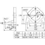 【代引不可】 ダイキン ピストンポンプ用フート V70M-10 (364-9865) 《油圧ポンプ》 【メーカー直送品】
