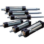 【送料無料】【代引不可】 TAIYO 油圧シリンダ 100H-21FB40BB200-AB (584-6978) 《油圧シリンダ》