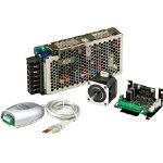 【送料無料】 シナノケンシ コントローラ内蔵マイクロステップドライバ&ステッピングモータ CSA-UP42D1-PSU4 (440-6320) 《モーター・減速機》