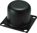 【送料無料】 TRUSCO 丸型ストッパー 許容荷重6273kgf TS104 (233-8211) 《防振材》