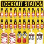 【送料無料】 パンドウイット ロックアウトステーションキット 20人用 PSL-20SWCA (474-7003) 《鍵》