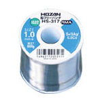 HOZAN 鉛フリーハンダ 1.0mm/800g HS-317 (298-4091) 《はんだ》