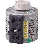 山菱電機(株) 山菱 ボルトスライダー据置型 V-130-3 (466-1150) 《変圧器》