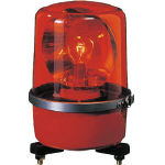 (株)パトライト パトライト SKP-A型 中型回転灯 φ138 赤 SKP-120A-R (100-6932) 《表示灯》