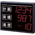 (株)パトライト パトライト VE型 インテリジェント生産管理表示板 VE100-304S (485-5850) 《表示灯》