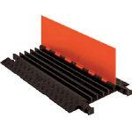 【代引不可】 CHECKERS ガードドッグ ケーブルプロテクタ 中重量型 電線5本 GD5X125-O/B (491-5020) 《ケーブルカバー》 【メーカー直送品】