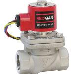 ヨシタケ 電磁弁レッドマン 25A DP-100-25A (382-2443) 《バルブ》