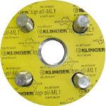 クリンガー フランジパッキン(5枚入り) ML1-10K-100A (320-2704) 《フランジ》