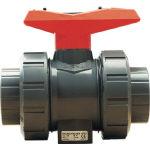 ジョージフィッシャー(株) ジョージフィッシャ PVC546型 自在ボールバルブ S式 EPDM 40A 161546406 (338-1889) 《塩ビ管継手》