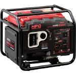 【代引不可】 MEIHO エンジン発電機 HPG-3000I HPG3000I (496-3857) 《ガソリン発電機》 【大型】