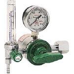 ヤマト ヒーター付調整器(炭酸用) YR-507F (126-7612) 《ガス調整器》