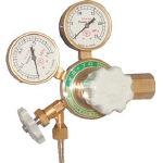 ヤマト 窒素ガス用調整器(汎用小型) YR-70V (126-7647) 《ガス調整器》