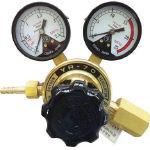 ヤマト 全真鍮製酸素調整器 YR-70(関東式) N-YR70-E (281-6172) 《ガス調整器》