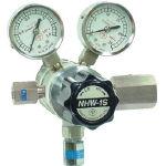 分析機用フィン付二段圧力調整器 NHW-1S NHW1STRCCH4 (434-4821) 《ガス調整器》