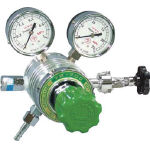 フィン付圧力調整器 YR-200ヨーク枠タイプ YR200AYO1 (434-6645) 《ガス調整器》