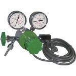 ヒーター付圧力調整器 YR-507V-2 YR-507V-2 (434-6742) 《ガス調整器》