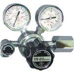 汎用小型圧力調整器 YR-90(バルブ付) YR90R11TRC (434-6866) 《ガス調整器》