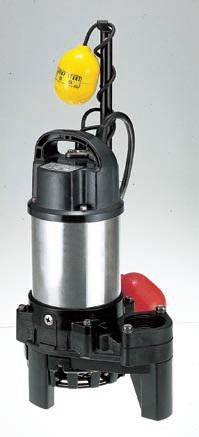 ツルミ (鶴見) 水中ポンプ 50PNA2.4 60HZ (樹脂製雑排水用水中ハイスピンポンプ)