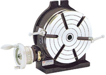 【直送品】 VERTEX(バーテックス) 縦型/横型兼用ロータリテーブル HV-10 (手動式)