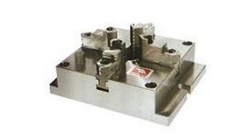 VERTEX(バーテックス) 薄型フライスチャック4爪タイプ VMJ-6 (生爪・硬爪兼用タイプ)