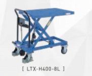 【代引不可】 をくだ屋技研 (OPK) 手動式リフトテーブルキャデ LT-H400-8L 【メーカー直送品】