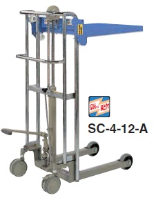 【ポイント5倍】 【直送品】 をくだ屋技研 (OPK) 標準型テーブル式サントカー SC-4-8-A