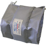 【代引不可】 ヤガミ フランジ用保温ジャケット TJF-65A (466-1265) 《配管保護資材》 【メーカー直送品】