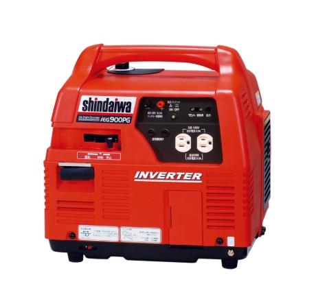 【直送品】 やまびこ 新ダイワ インバータ発電機(ガスエンジン) IEG900PG-M (プロパンガス燃料)