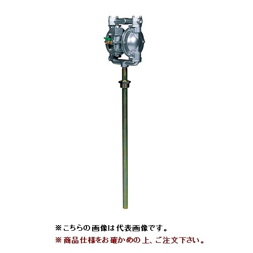 【直送品】 ヤマダ ダイアフラムポンプ ドラムタイプ NDP-20BAN-D (851396)